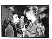 Annabel Heseltine at Andrew Neils Book Party. Daphne's, Draycott Ave, London 28 Oct96 at © Copyright Photograph by Dafydd Jones 66 Stockwell Park Rd. London SW9 0DA Tel 020 7733 0108 www.dafjones.com