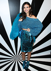 MANHATTAN, NEW YORK CITY, NY, USA - SEPTEMBER 11: alice + olivia SS19 Presentation Powered By Booking.com held at Pier 59 Studios on September 11, 2018 in Manhattan, New York City, New York, United States. 11 Sep 2018 Pictured: Victoria Justice. Photo credit: Image Press Agency/MEGA TheMegaAgency.com +1 888 505 6342