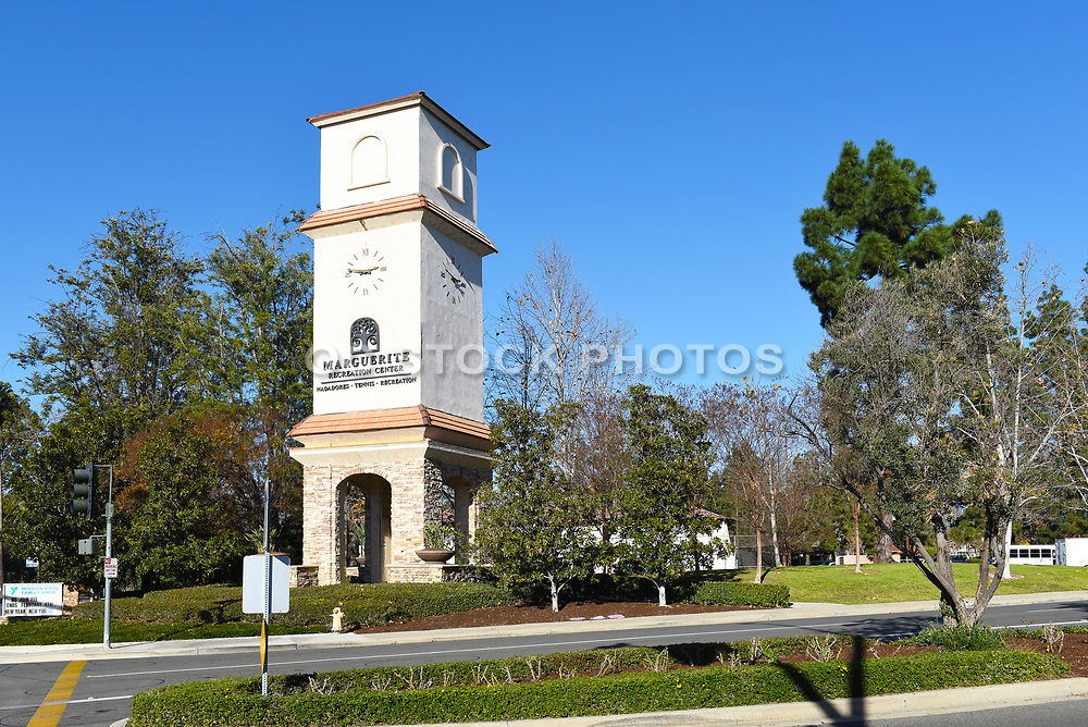 Marguerite Recreation Center Clock Tower in Mission Viejo
