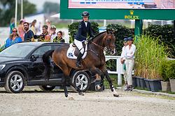 Conter Zoe, BEL, Univers du Vinnebus<br /> Grand Prix Rolex powered by Audi <br /> CSI5* Knokke 2019<br /> © Hippo Foto - Dirk Caremans<br /> Conter Zoe, BEL, Univers du Vinnebus