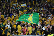 Australian fans winning against England during the Rugby World Cup Pool A match between England and Australia at Twickenham, Richmond, United Kingdom on 3 October 2015. Photo by Matthew Redman.