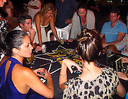 Olivia Munn, Dave Annable, Daya Fernandez, Sarah, Bryan Greenberg and Odette Yustman.Celebrities attend Hollywood Domino Celebrity Golf Tournament Gala during Labor Day weekend in Puerto Rico..Palomino Island, Puerto Rico, USA..Saturday, September 03, 2011..Photo By CelebrityVibe.com..To license this image please call (323) 425-4035; or .Email: CelebrityVibe@gmail.com ; .website: www.CelebrityVibe.com.**EXCLUSIVE**