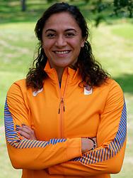 10-09-2019 NED: Team presentation World Cup Doha, Arnhem<br /> Naomi Sedney (4x100m relay) presentation for the World Championships in Doha.