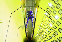 24.07.2015, Klima Wind Kanal, Wien, AUT, OESV, Skisprung, Training im Wind Kanal , im Bild // during a trainingssession of the Austrian ski jumping team in the Climatic Wind Tunnel, Vienna, Austria on 2014/07/24. EXPA Pictures © 2015, PhotoCredit: EXPA/ Sebastian Pucher