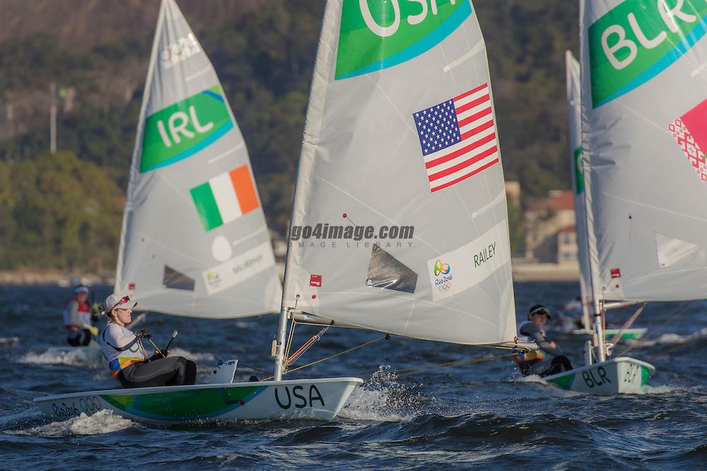 Laser Radial USA Paige Railey  USAPR8<br /> <br /> 2016 Olympic Games <br /> Rio de Janeiro