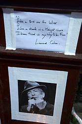 November 11, 2016 - New York, New York, USA - Leonard Cohen tribute at hotel Chelsea in New York City, on november 11, 2016. (Credit Image: © Future-Image via ZUMA Press)