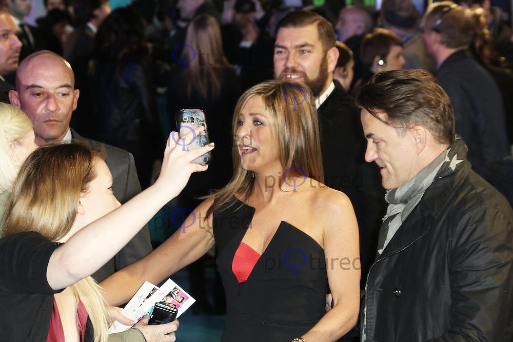Jennifer Aniston, Horrible Bosses 2 - World Film Premiere, Leicester Square, London UK, 12 November 2014, Photo by Richard Goldschmidt