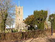Church of St Michael South Elmham, Suffolk, England, UK