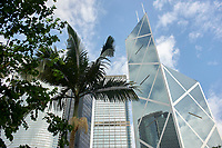 Bank of China building, Hong Kong, Hong Kong, August 2008   Photo: Peter Llewellyn