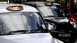Fiel photo dated 21/01/07 of London Taxis. Black cab drivers in London are to be trained to respond to medical emergencies and terror attacks.