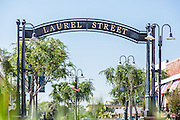 Laurel Street and Bellflower Blvd