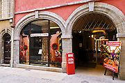 The Museum of Miniatures in old town Vieux Lyon, France (UNESCO World Heritage Site)
