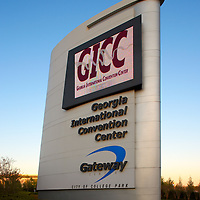 Georgia International Convention Center Sign - Atlanta, GA