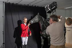 Henk van Cauwenbergh, Wilm Vermeir<br /> Foto shoot met Henk van Cauwenbergh voor KBRSF - Zaventem 2018<br /> © Hippo Foto - Dirk Caremans<br /> 01/05/2018