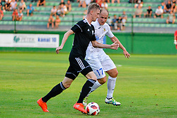 football match between NS Mura and NK Domzale in 3rd Round of Prva liga Telekom Slovenije 2018/19, on Avgust 05, 2018 in Mestni stadion Fazanerija, Murska Sobota, Slovenia. Photo by Mario Horvat / Sportida