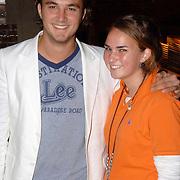 NLD/Amsterdam/20060907 - Finale Elite modellook 2006, Joris Putman en nichtje