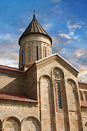 """Picture & image of Samtavisi Georgian Orthodox Cathedral, 11th century, Shida Karti Region, Georgia (country)<br /> <br /> Built during the so called 10-11th century """"Georgian Golden Era"""" Samtavisi cathedral is a built in classical Georgian style of the period. Layout on a cruciform ground plan with a high central cylindrical central cupola. .<br /> <br /> Visit our MEDIEVAL PHOTO COLLECTIONS for more   photos  to download or buy as prints https://funkystock.photoshelter.com/gallery-collection/Medieval-Middle-Ages-Historic-Places-Arcaeological-Sites-Pictures-Images-of/C0000B5ZA54_WD0s<br /> <br /> Visit our REPUBLIC of GEORGIA HISTORIC PLACES PHOTO COLLECTIONS for more photos to browse, download or buy as wall art prints https://funkystock.photoshelter.com/gallery-collection/Pictures-Images-of-Georgia-Country-Historic-Landmark-Places-Museum-Antiquities/C0000c1oD9eVkh9c"""