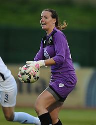 Hannah Reid of Bristol Academy  - Mandatory byline: Dougie Allward/JMP - 07966386802 - 29/08/2015 - FOOTBALL - Stoke Gifford Stadium -Bristol,England - Bristol Academy Women FC v Birmingham City Ladies - FA WSL Continental Tyres Cup