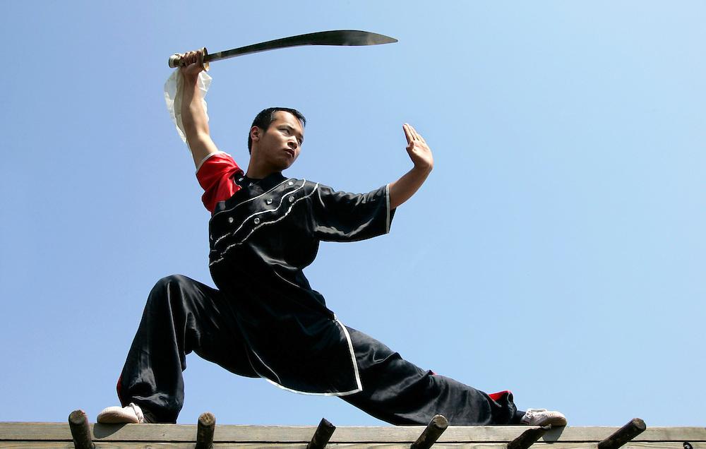 Fei Bao Xian. World Champion Wushu.