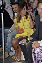 July 2, 2018 - Berlin, Deutschland - Giovanni Zarrella, Jana Ina Zarrella.LASCANA Fashion Show, Berlin, Germany - 02 Jul 2018 (Credit Image: © face to face via ZUMA Press)