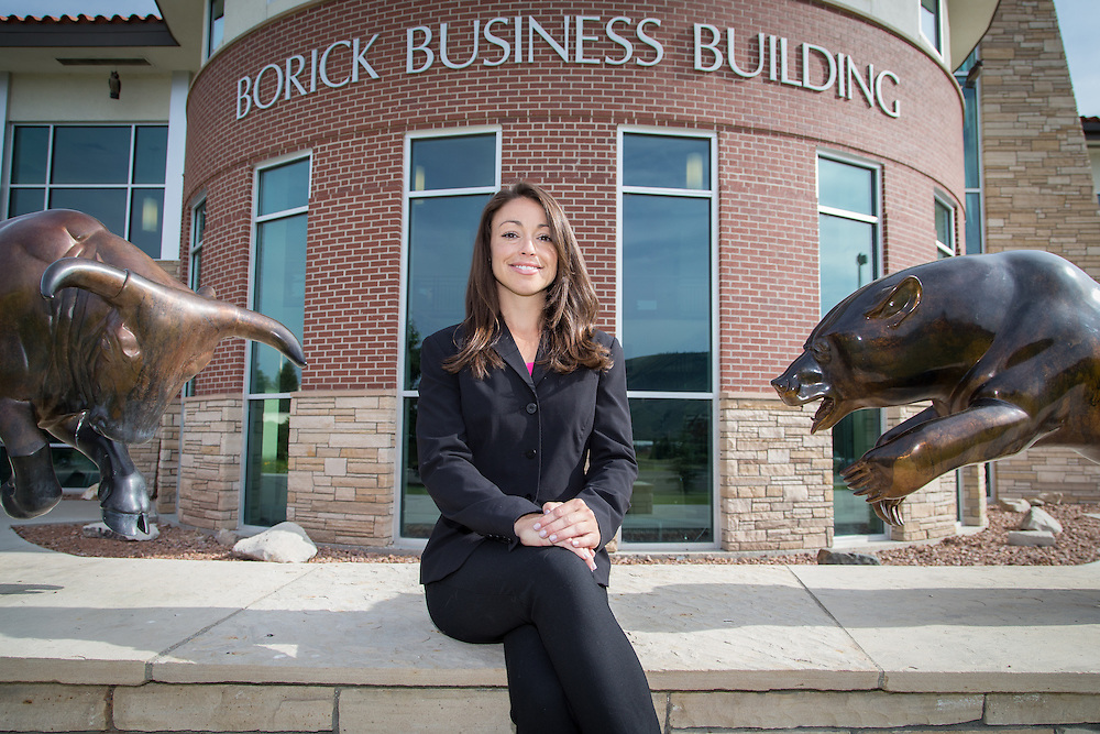 Chelsea Dalporto-McDowell, director of career services for the School of Business at Western State Colorado University.