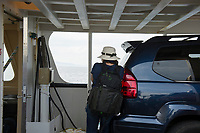 Sam Abell Workshop ~ Ferry from Rockland to North Haven and Vinalhaven.  ©2017 Karen Bobotas Photographer