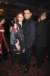 Designers JULIE VERHOEVEN and ROLAND MOURET at the Morgan Stanley Great Britons Awards at The Guildhall, City of London on 31st January 2008.  Conservative party leader David Cameron presenter a lifetime achievement award to former Prime Minister Baroness Thatcher.<br /> <br /> NON EXCLUSIVE - WORLD RIGHTS (EMBARGOED FOR PUBLICATION IN UK MAGAZINES UNTIL 2 WEEKS AFTER CREATE DATE AND TIME) www.donfeatures.com  +44 (0) 7092 235465