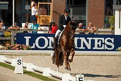 Jurado Lopez Severo, ESP, D'Avie<br /> World ChampionshipsYoung Dressage Horses<br /> Ermelo 2018<br /> © Hippo Foto - Dirk Caremans<br /> 03/08/2018