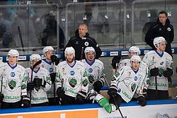 15.10.2021, Keine Sorgen Eisarena, Linz, AUT, ICE, Steinbach Black Wings Linz vs HK SZ Olimpija, 9. Runde, im Bild Head Coach Mitja Sivic (HK SZ Olimpija) // during the bet-at-home ICE Hockey League 9th round match between Steinbach Black Wings Linz and HK SZ Olimpija at the Keine Sorgen Eisarena in Linz, Austria on 2021/10/15. EXPA Pictures © 2021, PhotoCredit: EXPA/ Reinhard Eisenbauer