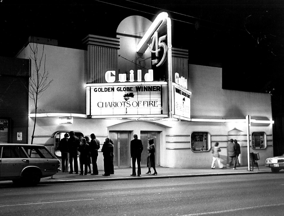 Open since 1921 in the Wallingford neighborhood, the art deco Guild 45th (shown in 1982) abruptly ended its run in June 2017. (Peter Liddell / The Seattle Times)