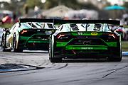 November 11-13, 2020. Race 2, Lamborghini Super Trofeo, Sebring: 99 Danny Formal, Ansa Motorsports, Lamborghini Broward, Lamborghini Huracan Super Trofeo EVO
