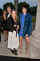 Phoebe Fraser and Alexandra Moncrieffe at the Tatler's English Roses 2017 party in association with Michael Kors held at the Saatchi Gallery, London England. 29 June 2017.<br /> Photo by Dominic O'Neill/SilverHub 0203 174 1069 sales@silverhubmedia.com