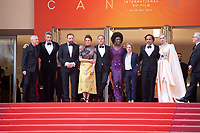 Festival jury Robin Campillo, Pawel Pawlikowski, Yorgos Lanthimos, Alice Rohrwacher,  Enki Bilal, Maimouna N'Diaye, Kelly Reichardt, Alejandro Gonzalez Inarritu and Elle Fanning at the Opening Ceremony and The Dead Don't Die gala screening at the 72nd Cannes Film Festival Tuesday 14th May 2019, Cannes, France. Photo credit: Doreen Kennedy
