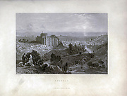 Tripoli, Lebanon, From Syria, the Holy Land, Asia Minor, etc. : by  Carne, John, 1789-1844; Bartlett, W. H. (William Henry), 1809-1854; Purser, William Publisher: London, Fisher [1839-40]