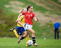 Ingrid M. Wold. Norway-Sweden, WU17 Four Nation's Tournament. Eerikkilä, Finland, 25.5.2007. Photo: Jussi Eskola