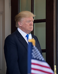June 9, 2017 - Washington, DC, United States - President Donald Trump welcomed President Klaus Iohannis of Romania, at the West Wing Portico (North Lawn) of the White House, on Friday, June 9, 2017. (Photo by Cheriss May) (Credit Image: © Cheriss May/NurPhoto via ZUMA Press)