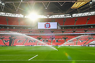 Wembley Stadium ahead of the Friendly match between England and Italy at Wembley Stadium, London, England on 27 March 2018. Picture by Stephen Wright.