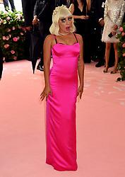 Lady Gaga attending the Metropolitan Museum of Art Costume Institute Benefit Gala 2019 in New York, USA.