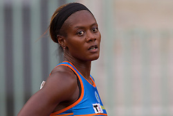 Second placed Merlene Ottey after women 100m finals at Slovenian National Championships in athletics 2010, on July 17, 2010 in Velenje, Slovenia. (Photo by Vid Ponikvar / Sportida)