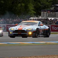#99 Aston Martin Vantage V8, Aston Martin Racing, Drivers: Simonson/Nygaard/Poulsen, Le Mans 24H 2012