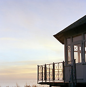 Beach house in Binz on the island of Rugen, northern Germany
