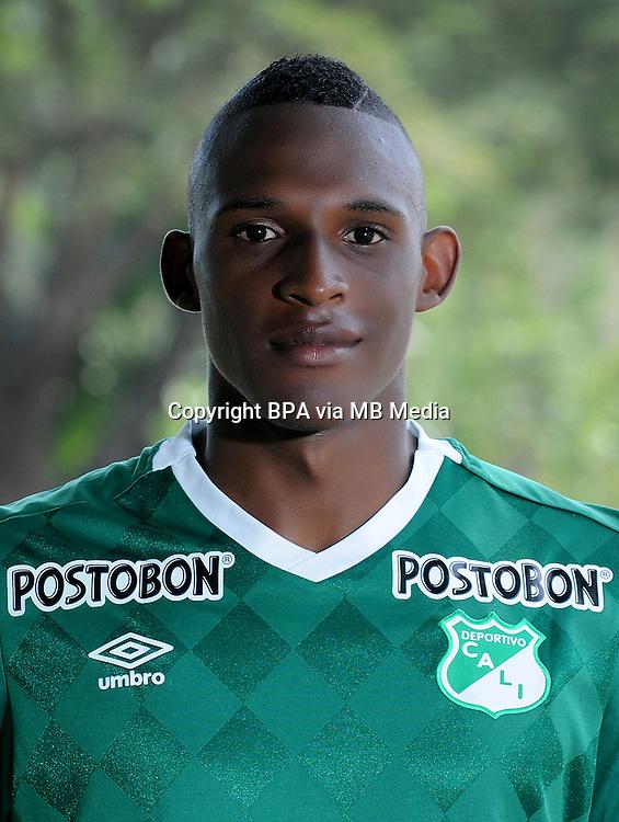 Colombia League - Liga Aguila 2015-2016 - <br /> Asociacion Deportivo Cali - Colombia / <br /> John Janer Lucumi Bonilla