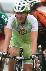 Matija Kvasina of Croatia (Perutnina Ptuj) during 3rd stage of the 15th Tour de Slovenie from Skofja Loka to Krvavec (129,5 km), on June 13,2008, Slovenia. (Photo by Vid Ponikvar / Sportal Images)/ Sportida)