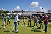 SCHIPLUIDEN / Delft -  - NGF GolfStart bij Delfland Golf. olv van PGA pro Adrie Balvert.       COPYRIGHT KOEN SUYK
