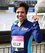 Dame Kelly Holmes - Virgin Money London Marathon Photocall