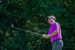 CARDIFF, WALES - Tuesday, August 13, 2019: Paul Bodin during the Football Association of Wales' Golf Day at the Vale Resort. (Pic by Mark Hawkins/Propaganda)
