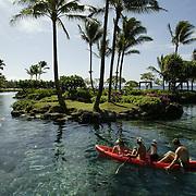 The Hyatt Resort and Spa on the Hawaiian island of Kauai.