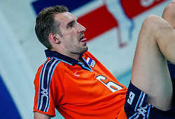 04-10-2002 ARG: World Champioships Netherlands - France, Santa Fe<br /> Richard Schuil<br /> NEDERLAND - FRANKRIJK 0-3<br /> WORLD CHAMPIONSHIP VOLLEYBALL 2002 ARGENTINA<br /> SANTA FE / 05-10-2002