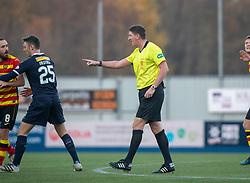 Ref Craig Thompson. Falkirk 1 v 1 Partick Thistle, Scottish Championship game played 17/11/2018 at The Falkirk Stadium.