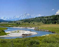 Buffalo Fork, Snake River, Grand Tetons, Jackson Hole, Wyoming